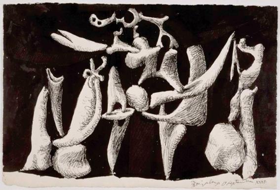 Pablo Picasso. La Crucifixion, 1932. Paris, Musée national Picasso. © RMN-Grand Palais, Béatrice Hatala. © Sucesión Pablo Picasso. VEGAP, Madrid 2016