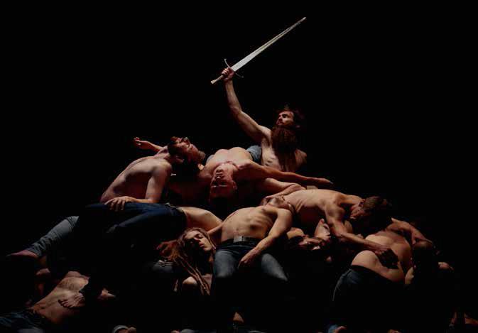 Olivier Dubois, directeur du Centre Chorégraphique National de Roubaix/Ballet du Nord, revient avec « Les mémoires d'un seigneur », jeudi 8 juin, Palazzo Mauro de André