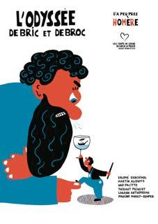 L'Odyssée d'Homère « de bric et de broc », à la Comédie-Saint Michel, Paris, jusqu'en août 2017