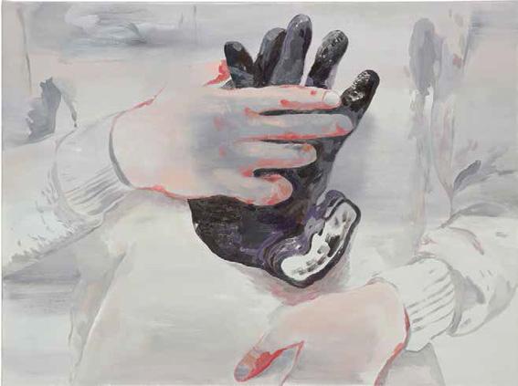 Sans titre, 2013 Huile sur toile - 97 x 130 cm Courtesy Semiose galerie, Paris. Photo © A. Mole