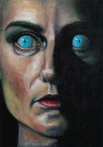Mathis Gasser, Blue-eyed, 2009, collection privée. Photo : Annik Wetter - MAMCO, Genève