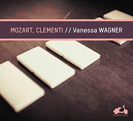 Nouvel album de Vanessa Wagner, Mozart, Clementi, chez La Dolce Volta