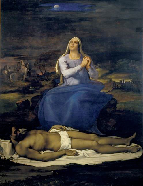 Sebastiano del Piombo, Piet?, 1512–1516, Museo Civico © Comune di Viterbo
