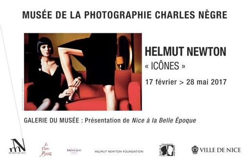 Helmut Newton, « Icônes », Musée de la Photographie Charles Nègre, Nice, du 17 février au 28 mai 2017