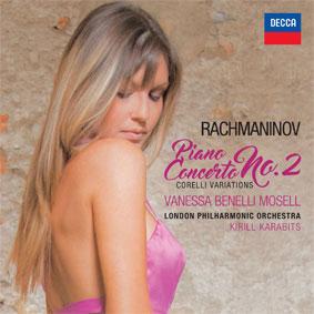 Vanessa Benelli Mosell, le piano romantique. Chez DECCA à paraître le 24 février 2017