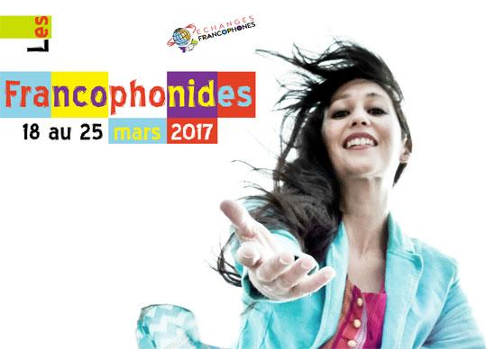 Les Francophonides, à Vernaison, Rhône, le 25 mars 2017