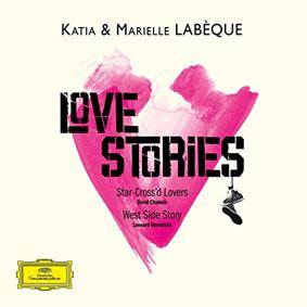 Katia et Marielle Labèque, Love stories, chez Deutsche Grammophon