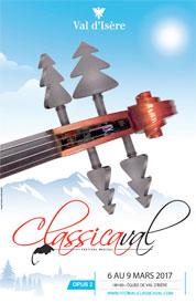 24ème Festival Classicaval / opus 2, Des virtuoses à Val d'Isère, du 6 au 9 mars 2017