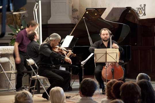 Trio Stéphane Tran Ngoc-Frédéric Audibert © DR