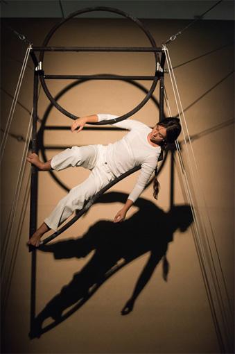 UT, performance conçue et mise en scène par Meris Angiolettid'après un texte original de Philippe Latreille.