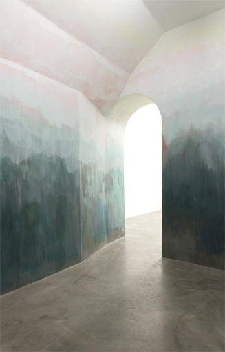 Caverne Liquide, INTERTIDAL, exposition collective, Galerie Eva Meyer, Paris, 2015