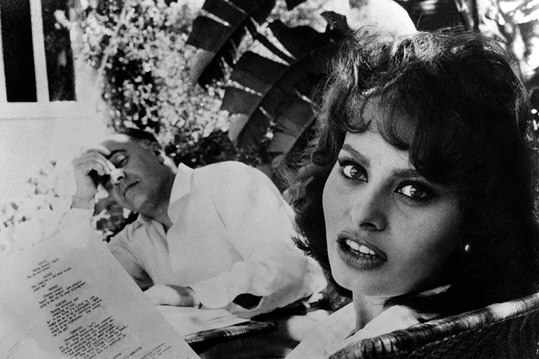 Sophia Loren et Carlo Ponti – Rome, 1960