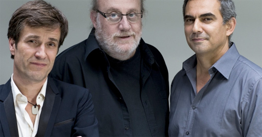 Emler, Tchamitchian, Echampard Trio © DR