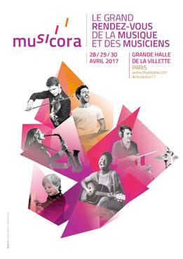 Musicora, le grand rendez-vous de la musique et des musiciens, du 28 au 30 avril 2017 à la Grand Halle de la Villette