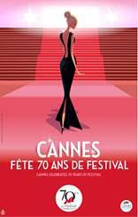 Cannes 70 ans de Festival : Leçon de cinéma avec Sandrine Kiberlain et Thierry Frémaux - dimanche 26 mars 2017