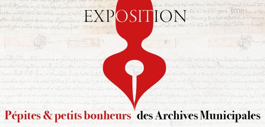 « Exposition Pépites et petits bonheurs des archives municipales », mairie de Malaucène, du 3 au 14 avril 2017