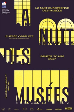 13e édition de la Nuit européenne des musées, samedi 20 mai 2017