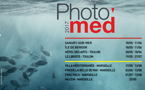Festival Photomed - Le programme 2017
