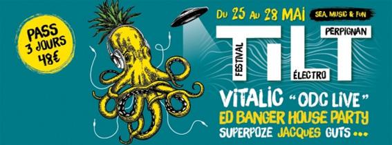 Le Tilt Festival a 15 ans ! concerts à  Elmediator, Le Robinson, Théâtre de l'Archipel, Perpignan, du 25 au 28 mai 2017