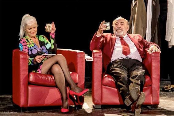 Patricia Hay, Hubert de Pourquery. 27 mai au théâtre de Lenche