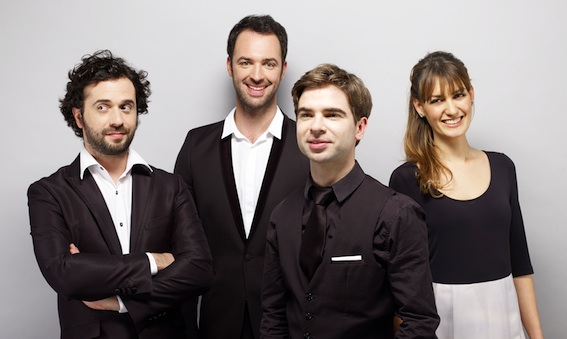 Quatuor Varèse le 22 juillet © DR