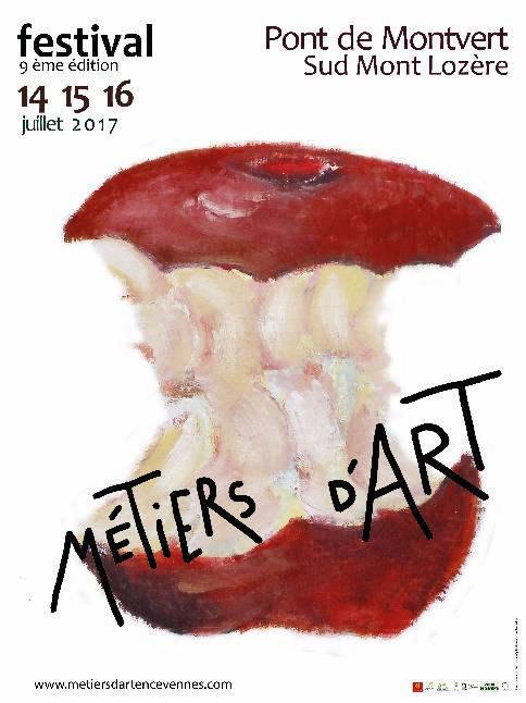 L'Association des Métiers d'Art en Cévennes, en partenariat avec la commune du Pont-de-Montvert Sud Mont Lozère, organise les 14, 15 et 16 juillet 2017, son 9e Festival des Métiers d'Art