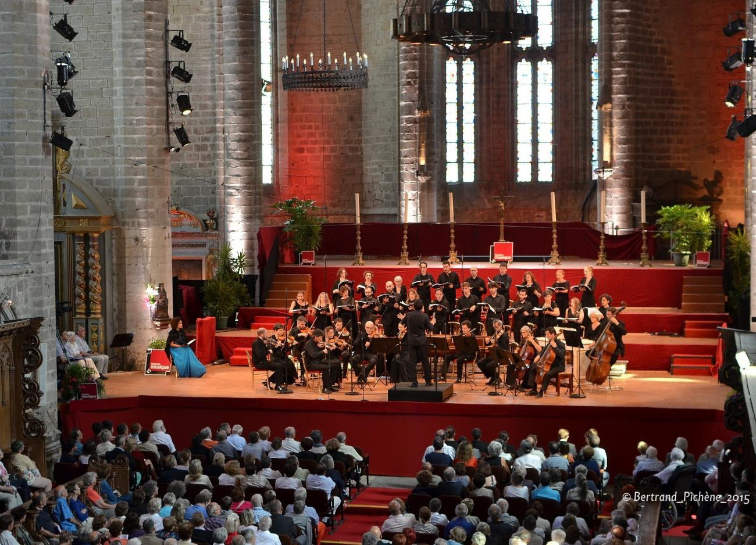 Concert dans l'Abbatiale © DR