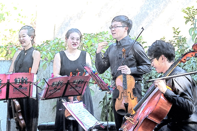 Quatuor Cheng © Pierre Aimar