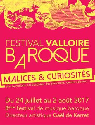 8e édition du Festival Valloire baroque du 24 juillet au 2 août 2017