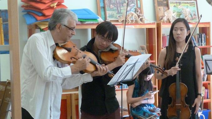 Atelier d'alto avec Ph. Xuereb