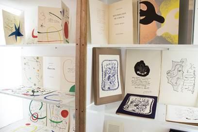 Vues de l'exposition « Maeght, imprimeur et éditeur d'art »  © Maeght Editeur Paris