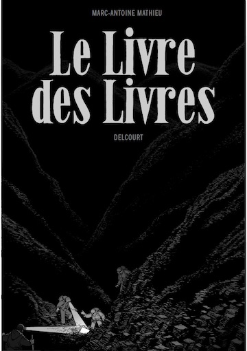 Marc-Antoine Mathieu, Le Livre des Livres présenté à Hubert & Breyne Gallery, Paris