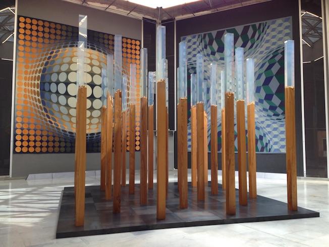 Fondation Vasarely, Aix-en-Provence. Les événements de novembre 2017