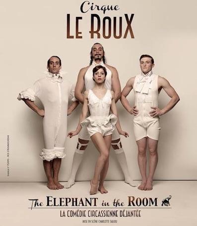 The Elephant In The Room du 19/12/17 au 7/1/18 à Bobino, Paris
