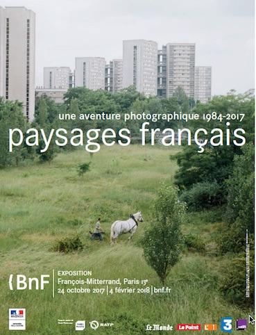 Paysages français. Une aventure photographique, 1984-2017, à la BnF Paris jusqu'au 4 février 2018