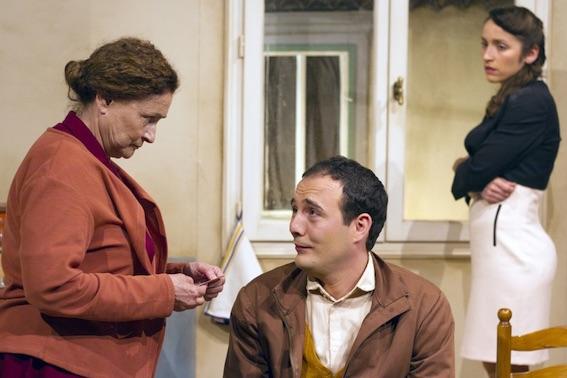 Ensemble, de Fabio Marra, avec Catherine Arditi, théâtre de Tournon, le 30/11/17