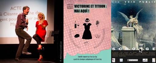 Décembre 2017 au Théâtre Francis-Gag, Nice