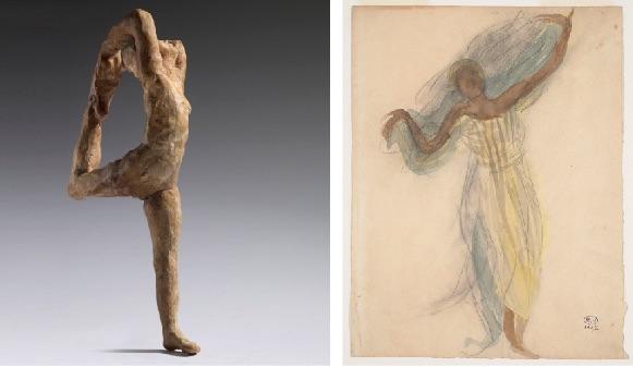 Rodin et la danse, exposition du 7 avril au 22 juillet 2018 au Musée Rodin, Paris
