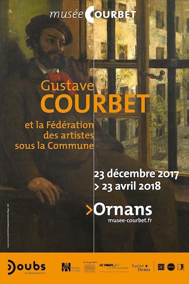 Gustave Courbet et la Fédération des artistes sous la Commune  jusqu'au 23 avril 2018 au Musée Gustave Courbet à Ornans (Doubs)