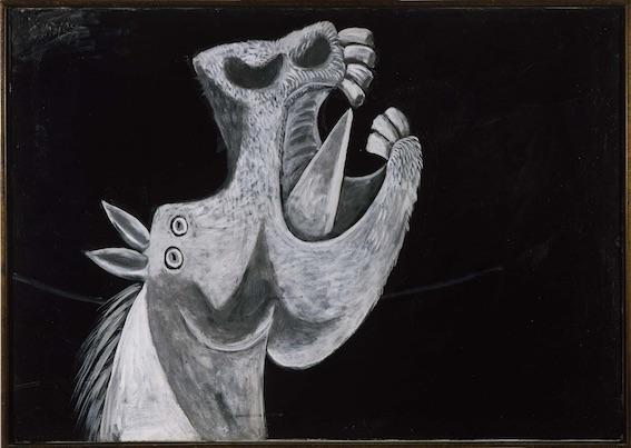 Etude pour Guernica (Tête de cheval) Pablo Picasso, Paris, 2 mai 1937 -Musée de la Reine Sofia, Madrid - Photo © Musée de la Reine Sofia, Madrid © Succession Picasso