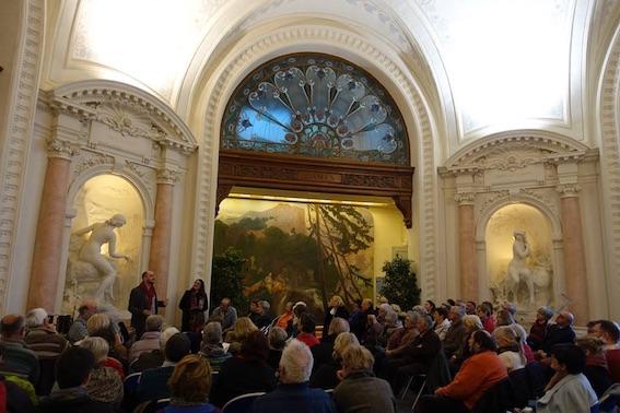 Les Salons d'Émilie. Concert thématique « la flûte de Pan avec  Michel Tirabosco », Palais Lumière, Evian, 21/01/18