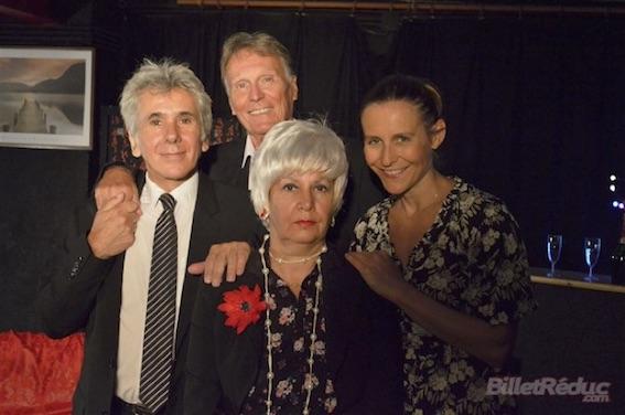 De gauche à droite Denis Pascual, André Wouters, Audrey de Saint Clair et Florence Bonanno