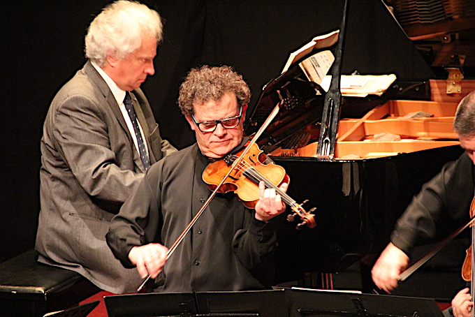 Marc Vieillefon, violon, Yves Henry, piano © Pierre Aimar