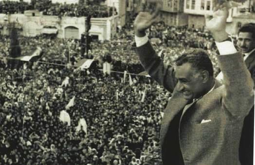 Nasser nationalise le Canal de Suez en 1956. D.R