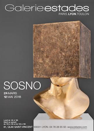 La Galerie Estades de Lyon présente deux grands artistes qui ont marqué le 20e siècle : Sosno et Tobiasse seront exposés du 24 mars au 12 mai 2018