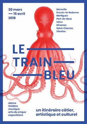 Le Train Bleu, du 30 mars au 15 avril 2018, un des événements de MP2018 « Quel Amour ! »