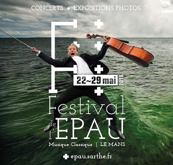 Festival de l'Epau à Yvré-l'Évêque du 22 au 29 mai 2018