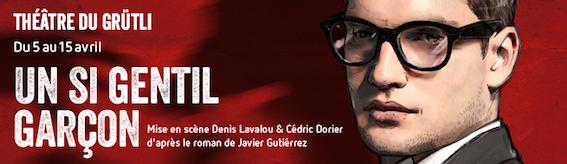 Théâtre du Grütli , Genève. Lisbeths, de Fabrice Melquiot, mise en scène Valentin Rossier, du 1er au 20 mai 2018