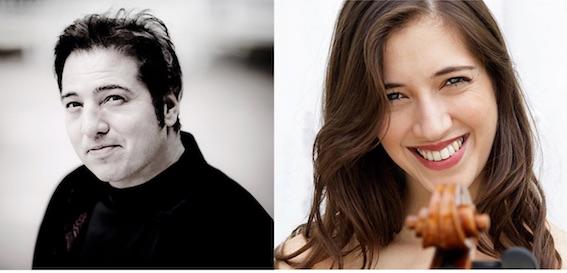 Fazil Say, piano,  et Camille Thomas, violoncelle