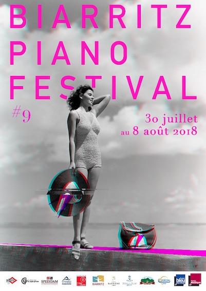 Biarritz Piano Festival, 9e édition du 30 juillet au 8 août 2018